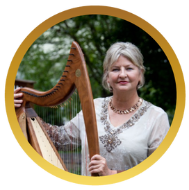 Photo of Harpist Rachel Christensen